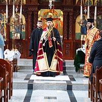 Епископ Сергије у грчкој Цркви у Берлину